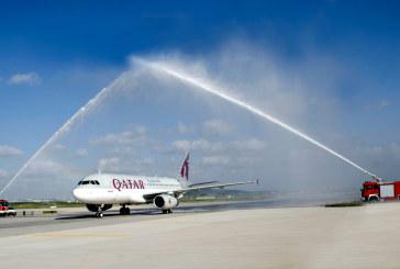 Qatar Airways, İstanbul Sabiha Gökçen'e uçmaya başladı