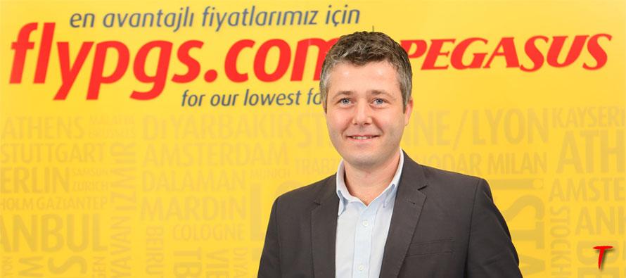 Pegasus Hava Yolları Satış Direktörü Emre Pekesen