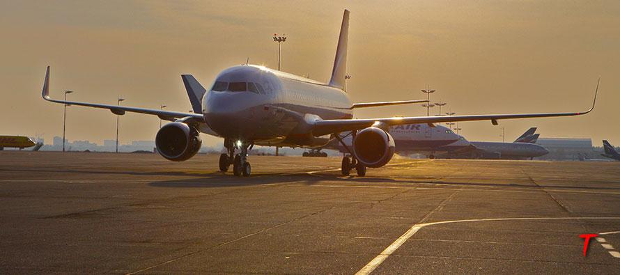 aeroflot landing