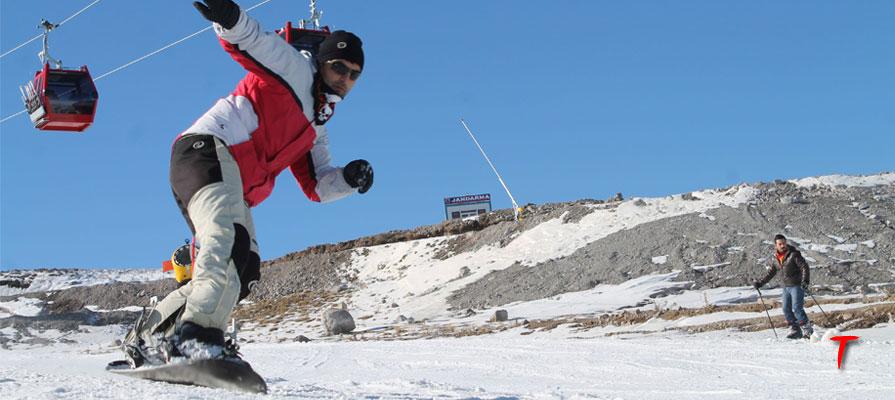 kış turizmi kayak teleferik
