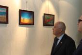 Uluslararası Turizm Karikatürleri Yarışması sergisi Ankara'da